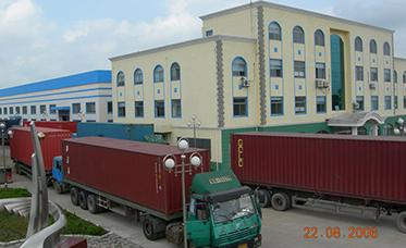 Export equipment loading site