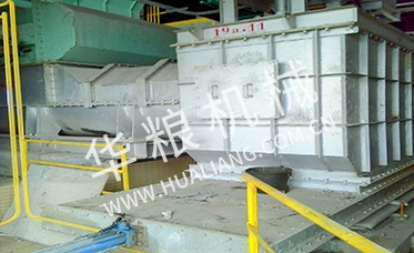 Waste incineration feed discharge conveying equipment