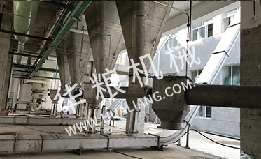 Chemical powder particle conveying system
