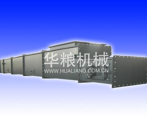 Scraper conveyor runs in horizontal and vertical conditions
