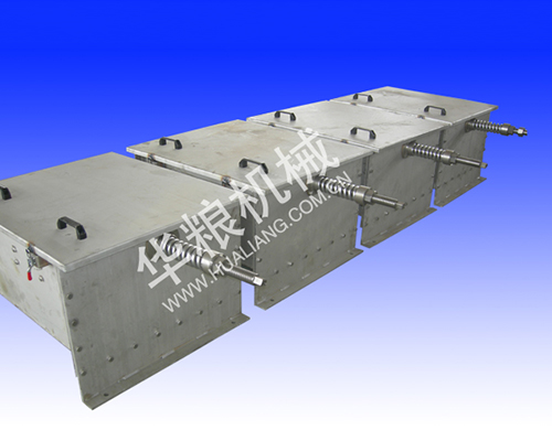 Stainless steel pipe chain conveyor tail