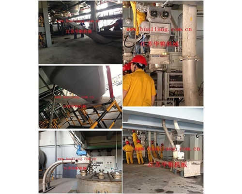 Chemical product conveying equipment